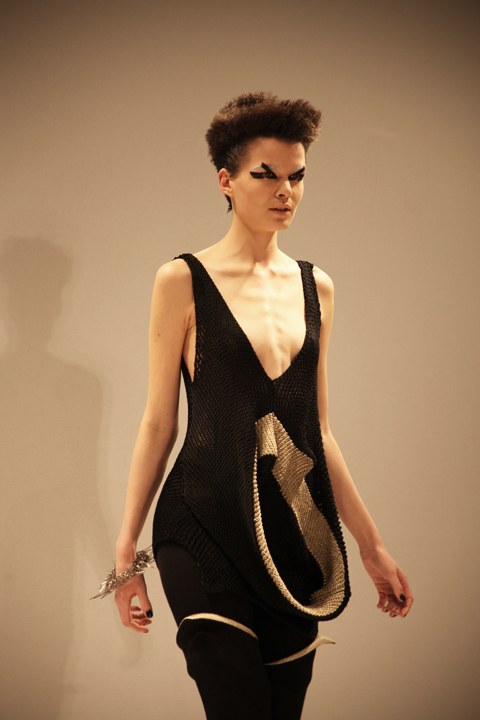 Alice Palmer A/W 2011 Into the Void. Photography by Amelia Gregory