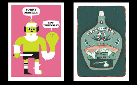 Work by Matt Bromley and Thomas Boswell