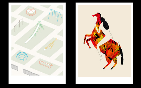 Work by Linus Kraemer and Evgenia Barinova