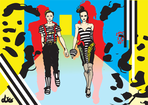 KTZ A/W 2011 by LJG Art and Illustration
