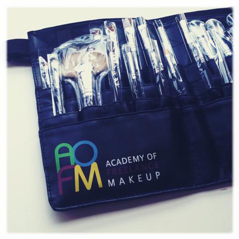 AOFM-photography by Amelia Gregory bespoke make up brush set