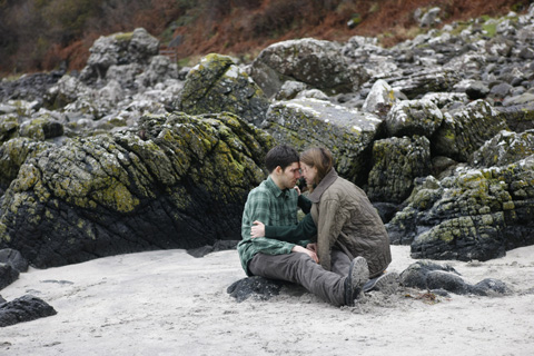 Colin Morgan and Natalie Press in ISLAND (2)