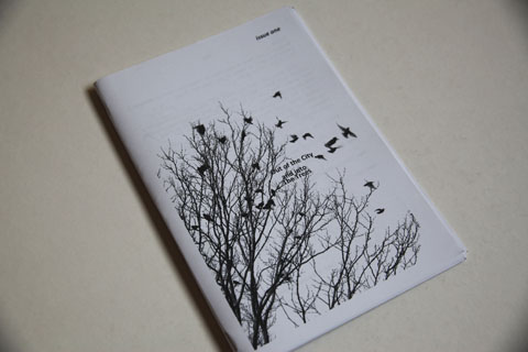 Into the Trees-zine