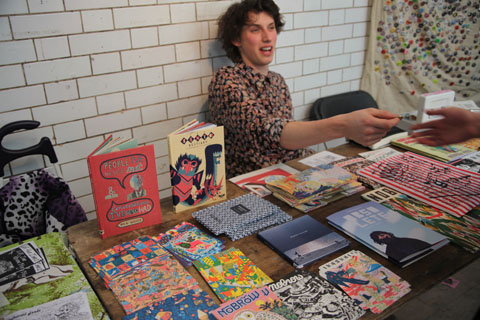 London Zine Symposium 2011 Photography by Amelia Gregory
