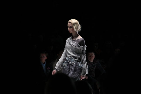 Moscow Mercedes Benz Fashion Week Russia RGataullina Photography by Amelia Gregory