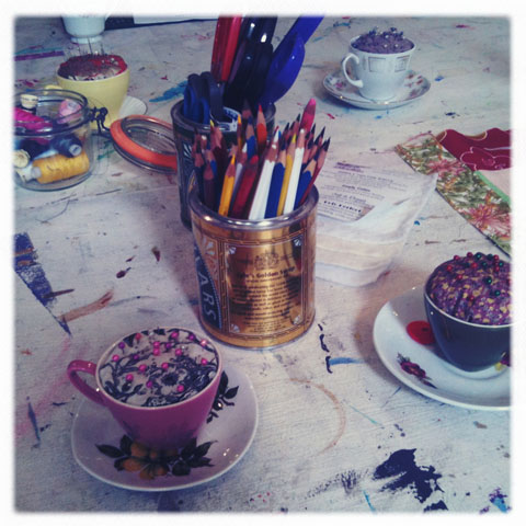 Papered Parlour-Quilting class