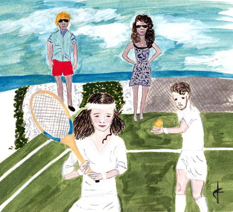Tennis by Jane Young