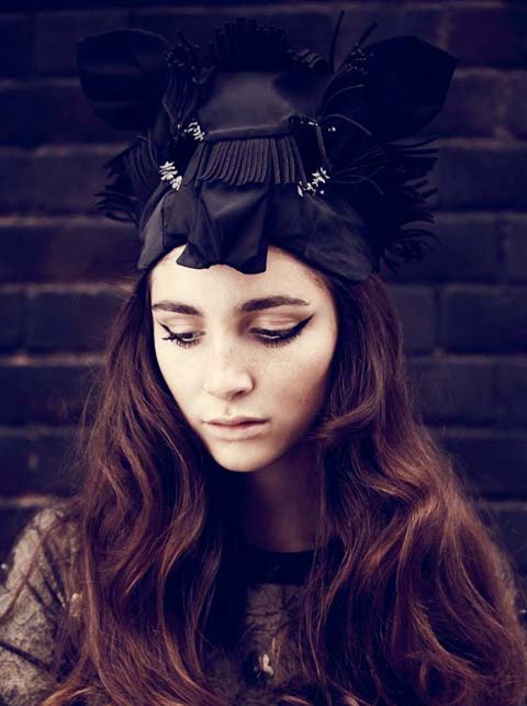 Tour de Force Headpiece SS 2011