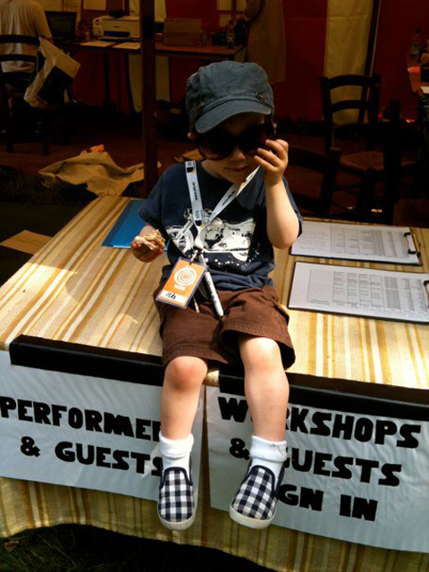 Wood Festival child