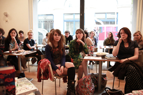 ACOFI Book Tour Fruitmarket Edinburgh 2011