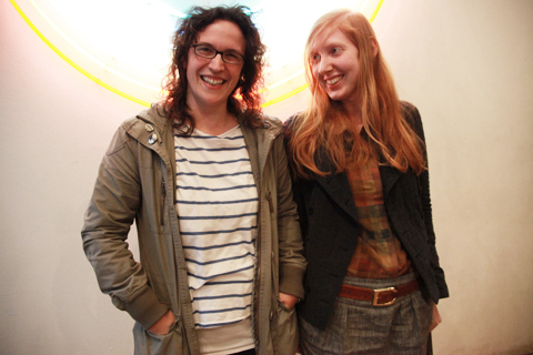 ACOFI Book Tour Fruitmarket Edinburgh 2011-Kirsty Jay Anderson and Emily Hall