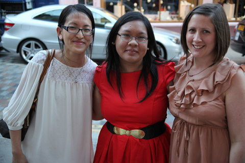 ACOFI Book Tour Tatty Devine Covent Garden-Jo Cheung, June and Gemma Milly