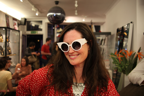 ACOFI Book Tour Tatty Devine Covent Garden-Jeremy Scott sunglasses, Love them