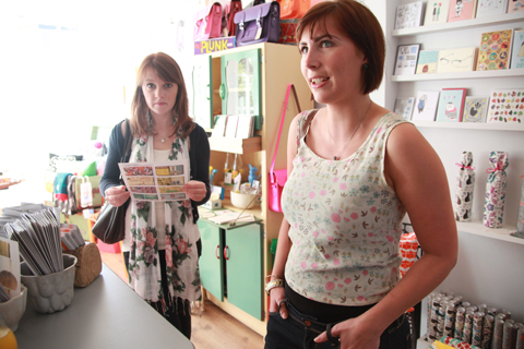 ACOFI book tour Comma Shop 2011 Sarah Plant