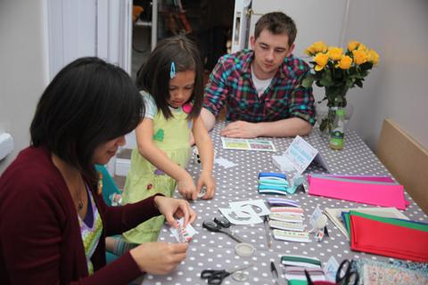 ACOFI book tour Comma Shop 2011 custom made uk