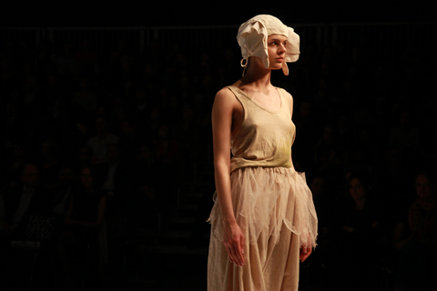 Agnieszka Kowalska Golden Thread Fashion Week Poland AW 2011 Winner