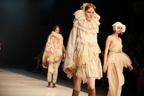 Agnieszka Kowalska Golden Thread Fashion Week Poland AW 2011