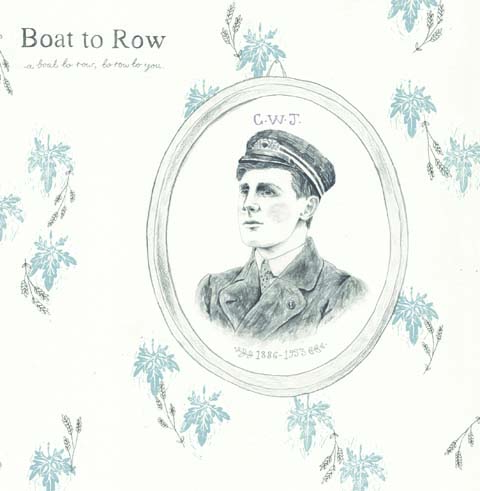 Boat to row front cover record by Rosie Moss