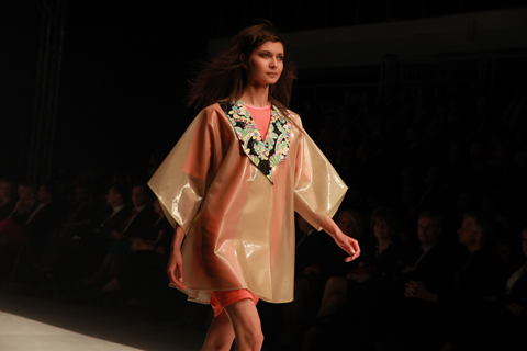 Domi Grzybek Golden Thread Fashion Week Poland AW 2011