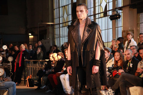 Konrad Parol Off Out Łódź Fashion Week AW 2011-photography by Amelia Gregory