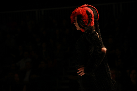 Magdalena Herwich Golden Thread Fashion Week Poland AW 2011