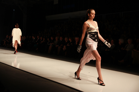 Marta Gos Golden Thread Fashion Week Poland AW 2011