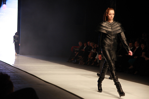 Monika Blazusiak Golden Thread Fashion Week Poland AW 2011