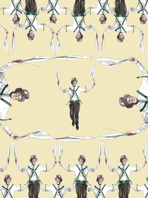 Morris Dancers by Faye West