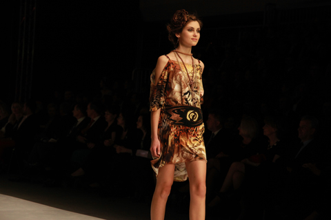 Natalia Paliy Golden Thread Fashion Week Poland AW 2011