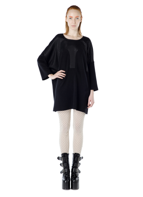 RH Label AW 2011 black dress