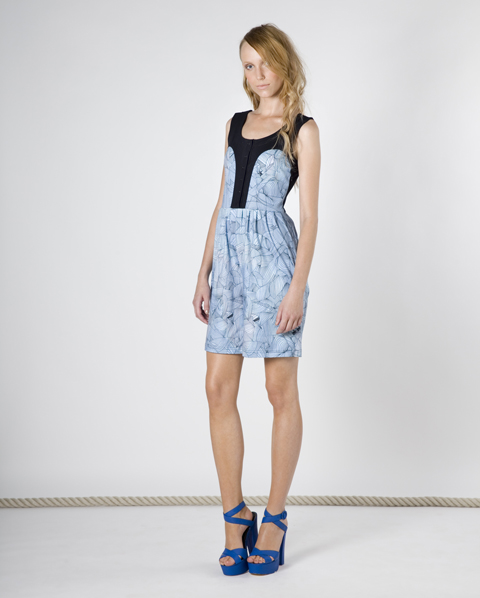 RH Label SS 2011 blue dress