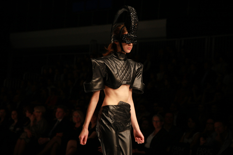Renata Miyabi Molik Golden Thread Fashion Week Poland AW 2011