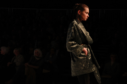 Sabina Koryl Golden Thread Fashion Week Poland AW 2011