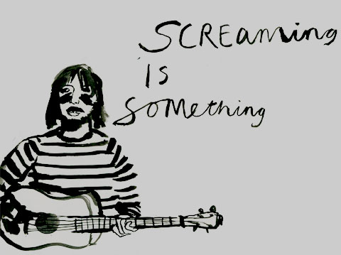 Screaming is Something by Sarah Douglas