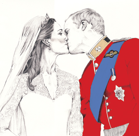 Will & Kate by Gemma Milly
