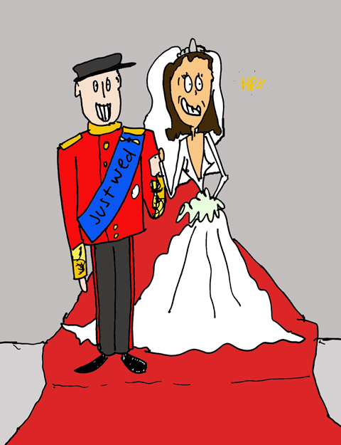 wills and kate by izy penguin
