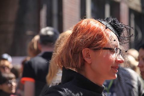 Łódź Fashion Week Poland AW 2011 street style-photography by Amelia Gregory