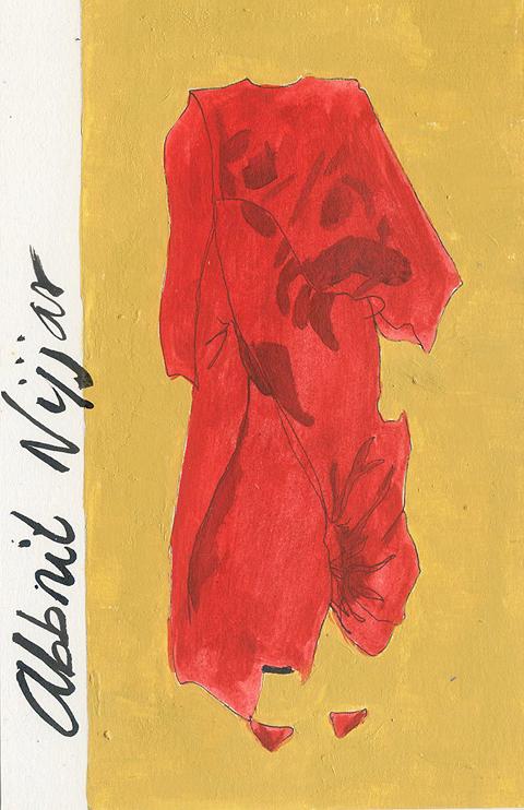 Abbnit Nijjar by Sandra Contreras red