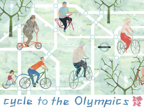 Abigail Read cycle to the olympics