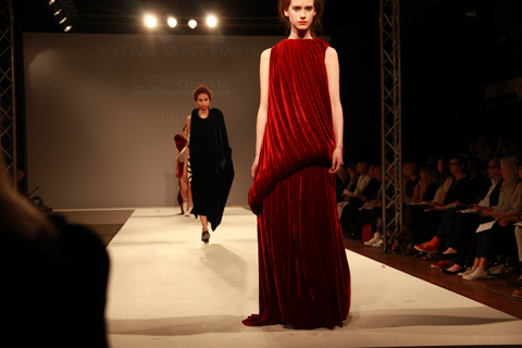 Central Saint Martins Ba Show 2011-Jie Bai photography by Amelia Gregory