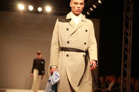 Central Saint Martins Ba Show 2011-Ivan Curia Nunes. Photography by Amelia Gregory