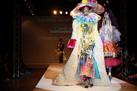 Central Saint Martins Ba Show 2011-Crimson Rose O'Shea photography by Amelia Gregory