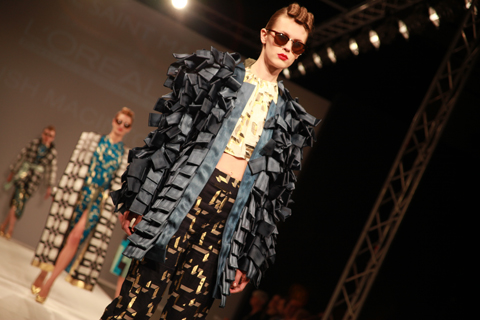 Central Saint Martins Ba Show 2011-Eilish Macintosh photography by Amelia Gregory