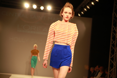 Central Saint Martins Ba Show 2011-Holly Skousbo photography by Amelia Gregory