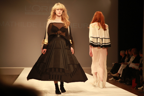 Central Saint Martins Ba Show 2011-Mathilde le Gagneur photography by Amelia Gregory