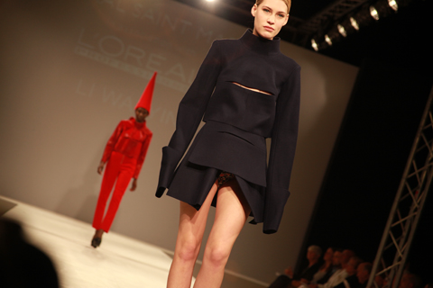 Central Saint Martins Ba Show 2011-Li Wai Yin photography by Amelia Gregory