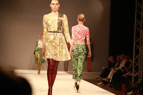 Central Saint Martins Ba Show 2011-Flaminia Saccucci. Photography by Amelia Gregory