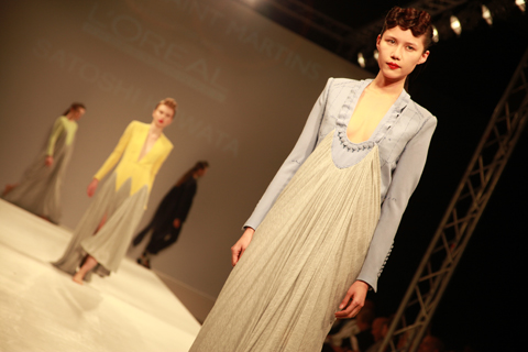 Central Saint Martins Ba Show 2011-Satoshi Kuwata photography by Amelia Gregory