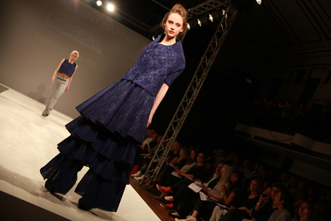 Central Saint Martins Ba Show 2011-Hannah Barr photography by Amelia Gregory