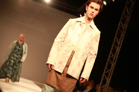 Central Saint Martins Ba Show 2011-Kristy Longman photography by Amelia Gregory